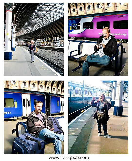 Riding trains in the United Kingdom first class was quite the experience. See our journey on the L5x5 blog!