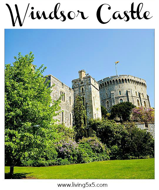 Windsor Castle in England - we saw the Queen! See what the buzz is all about at Windsor Castle.