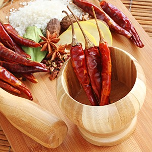 How to make hot pepper spice mix