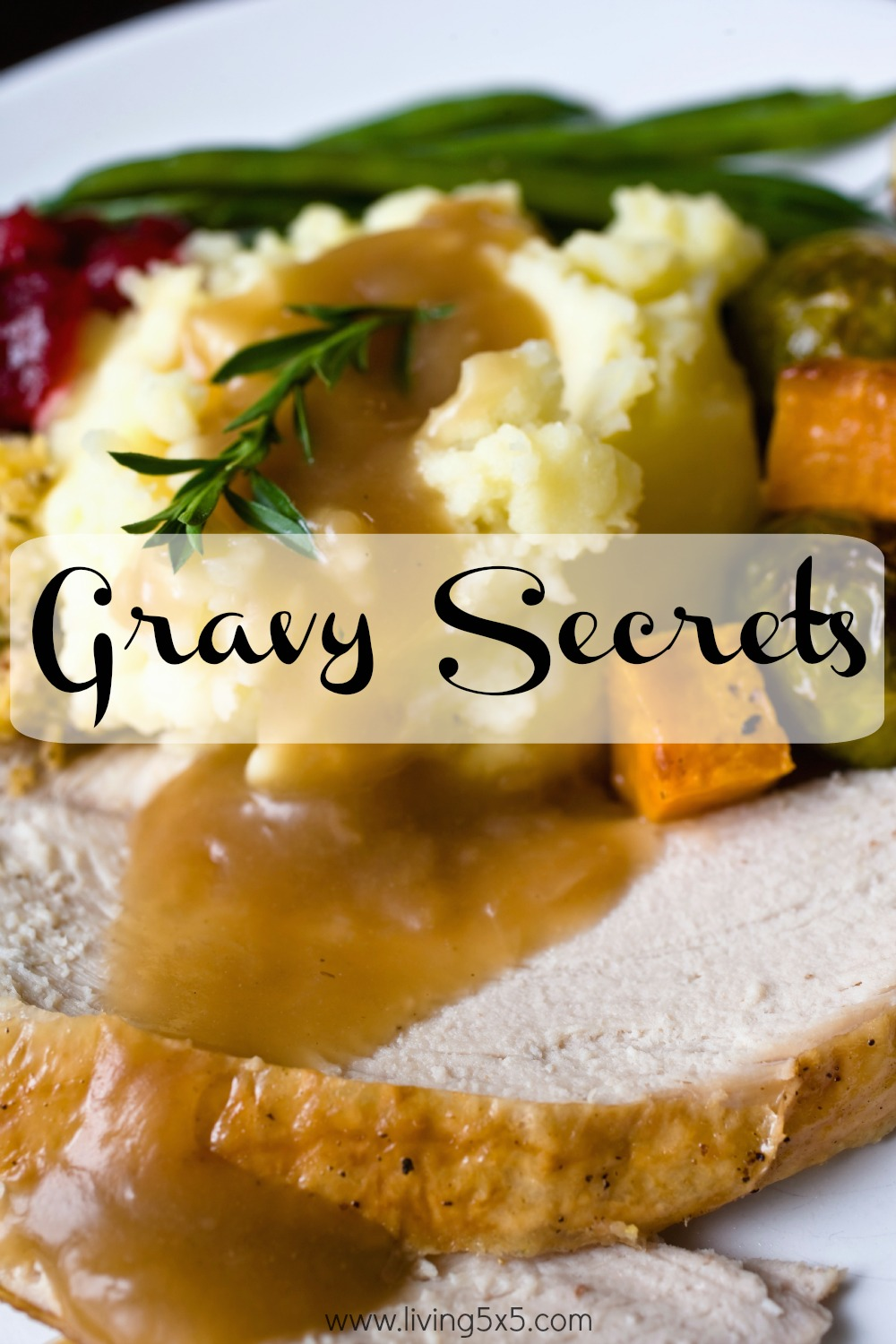 Make your own homemade gravy with my Gravy Secrets!