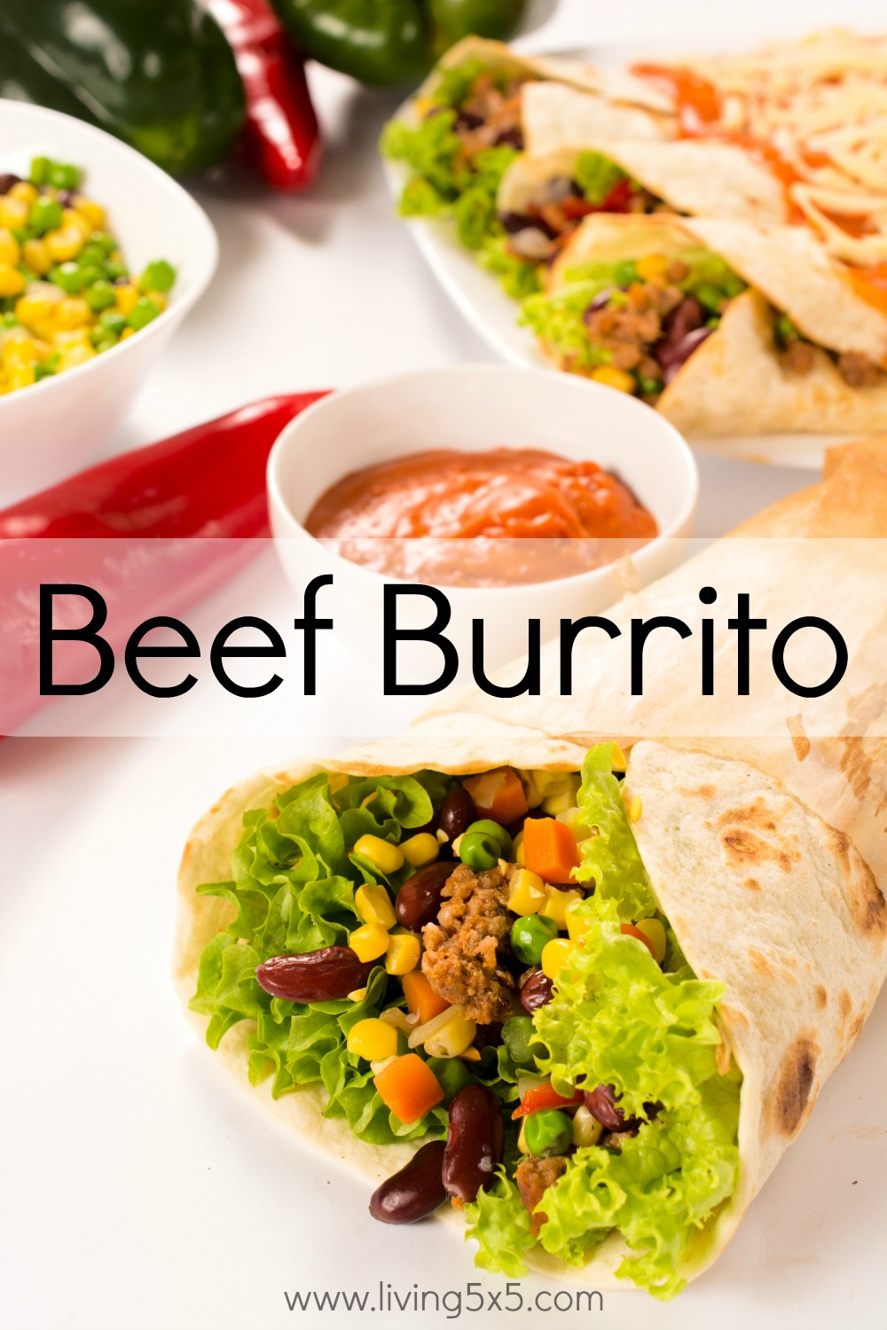 Burritos doesn't have to be complicated. Get this easy beef burrito recipe from Taste of Home.