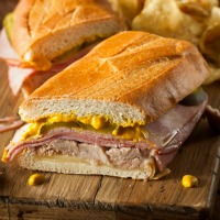 Ham and Cheese Melt