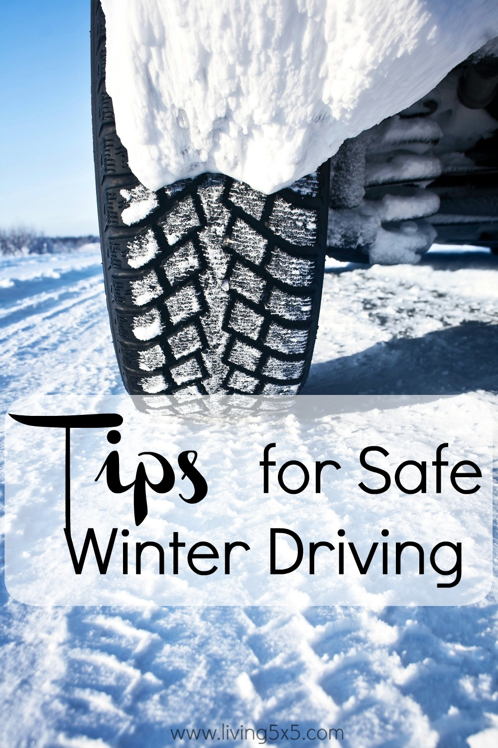 Driving in the wintertime can be daunting. Get some Tips for Safe Winter Driving and feel safe on the road!