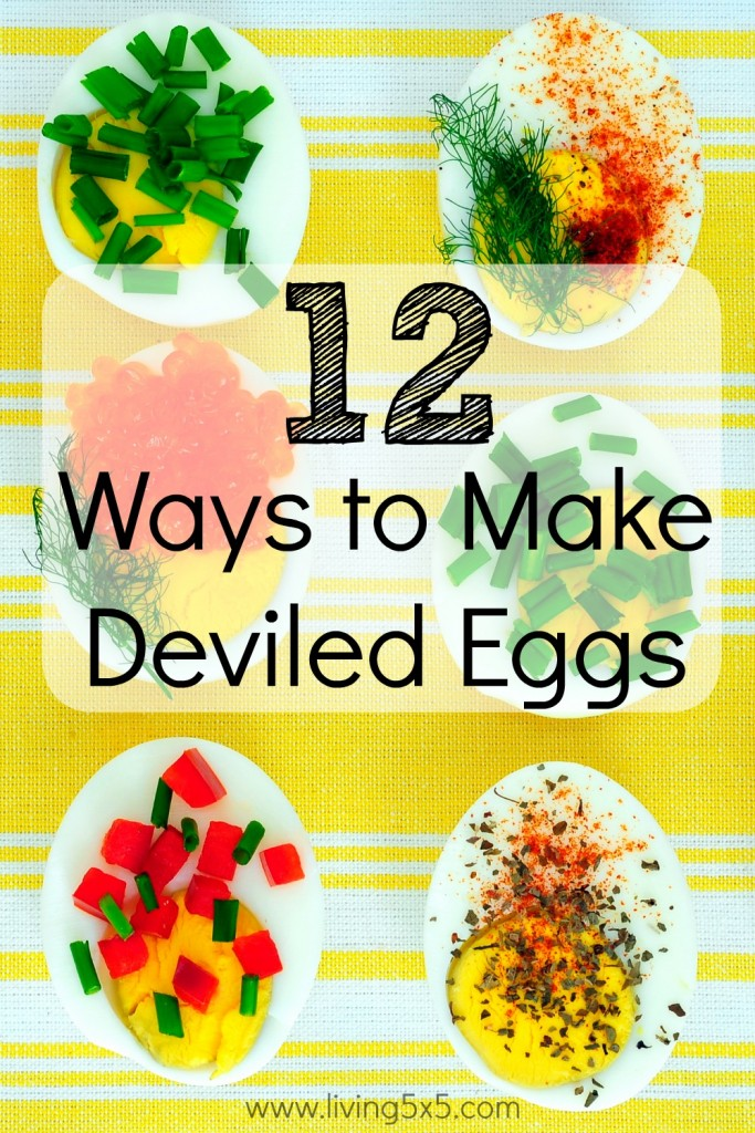 12 Ways to Make Deviled Eggs