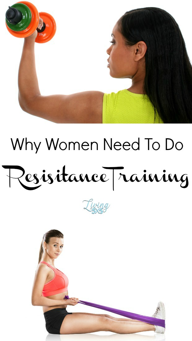 Why women need to do RESISTANCE EXERCISES? It can reduce the effects of the estrogen drop and even reverse bone loss which causes osteoporosis.