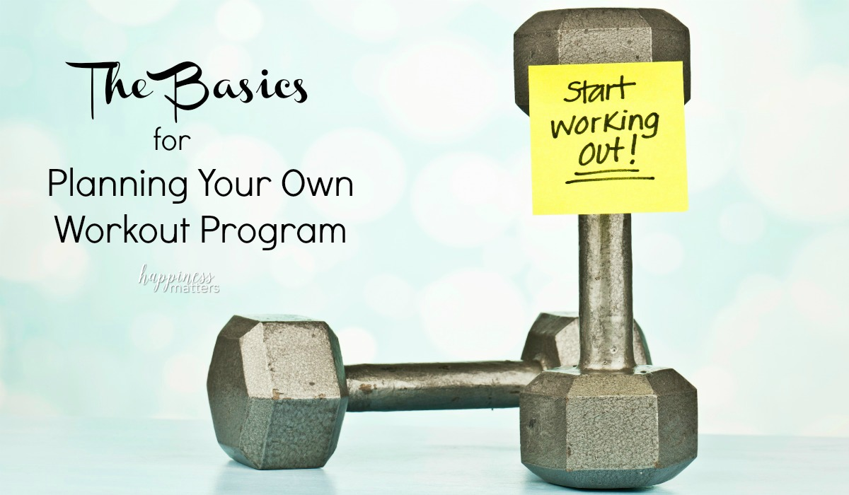 When it comes to getting fit or losing weight, having a long-term workout program planned will help you to stick with it. When planning your own workout program, you need to start with the basics to come up with something that suits your needs.