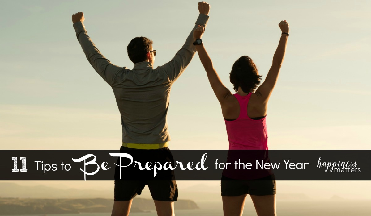 Do you want to be prepared for the new year? We plan, we make goals, and we make resolutions. I am taking the New Year planning process serious this year and have made a list of 11 areas that I want to make a concerted effort to improve. These areas of mine are pretty general, so I hope they will inspire yo