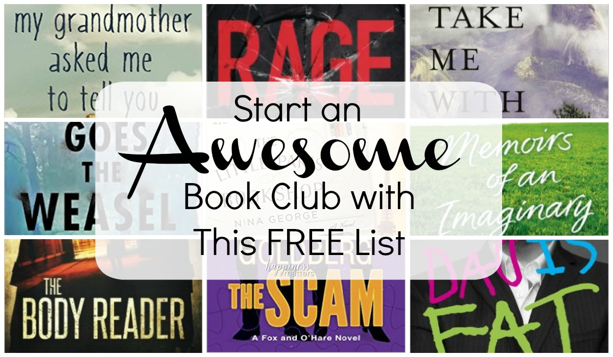 I LOVE reading new books and the motivation I get to read something new with a good book club. Lately, I have enjoyed facilitating the book club at work and thought I should share my thoughts on how to start a book club and make it AWESOME!