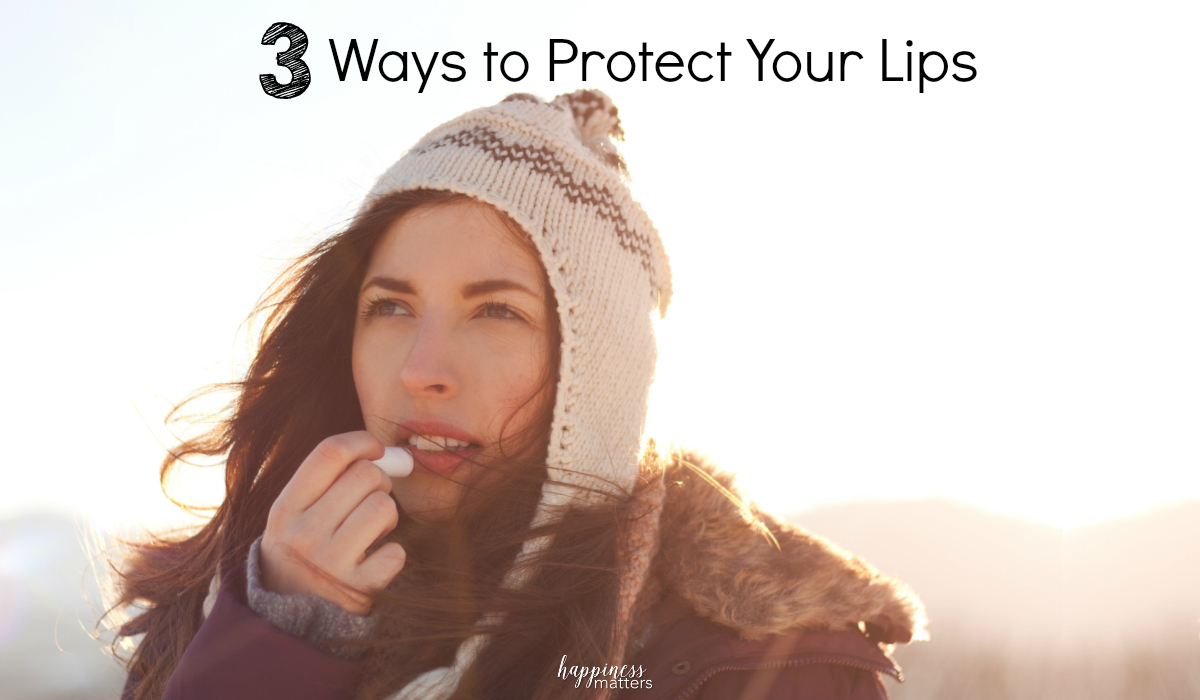 It's time to pucker up! When we think of taking care of our body, we usually remember the obvious (eat well, exercise, wear sunscreen, etc.) but we often neglect the small stuff such as our lips. Don't forget your lip care when seasons change and the air temperature starts shifting. Protect your lips!