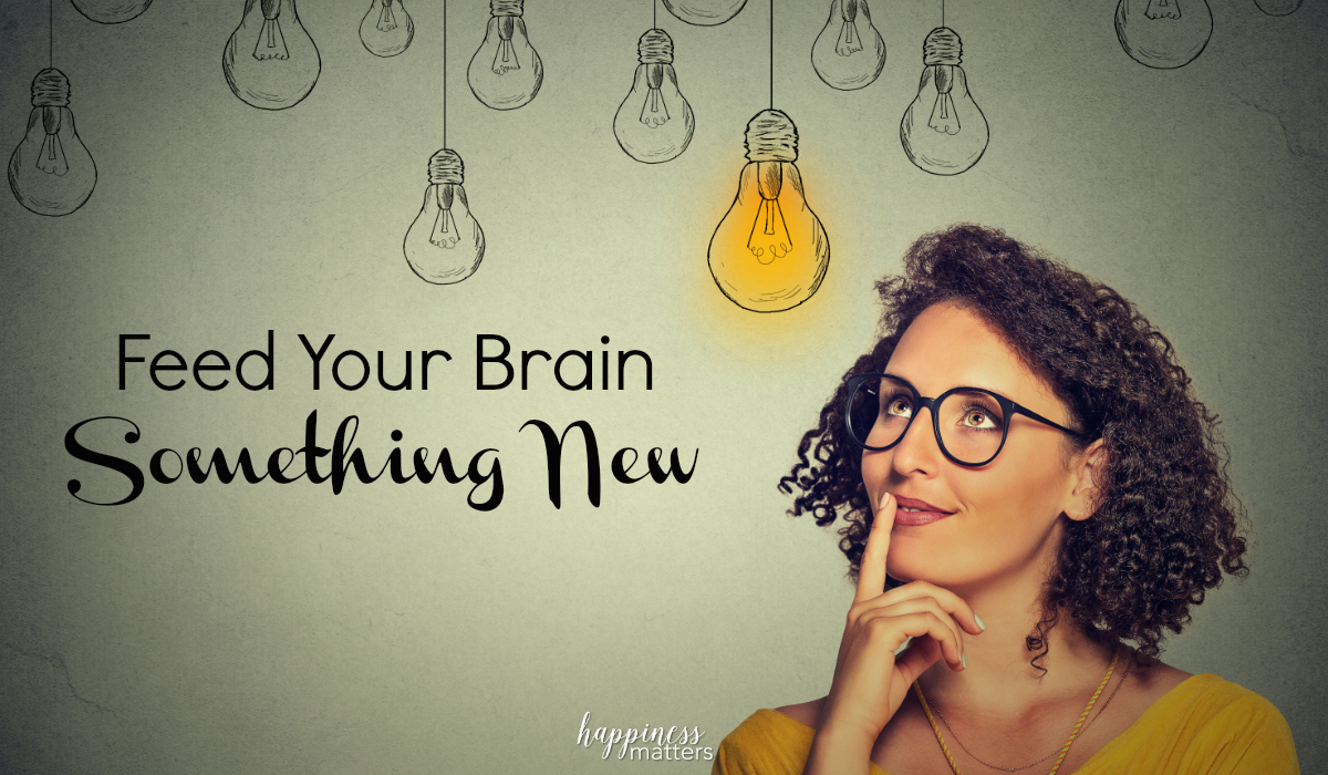 The average human uses less than 10% of their brain on a daily basis. By deciding to feed your brain something new, you are taking a step outside of your comfort zone and activating brainwave activity that is currently dormant.