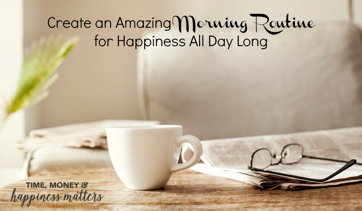 You probably have several rituals in your life. You go to bed at the same time every night. You drive the same way to work each morning, take the same route home every evening, and have a routine for your daily workouts. But how does having a good morning routine increase your happiness?