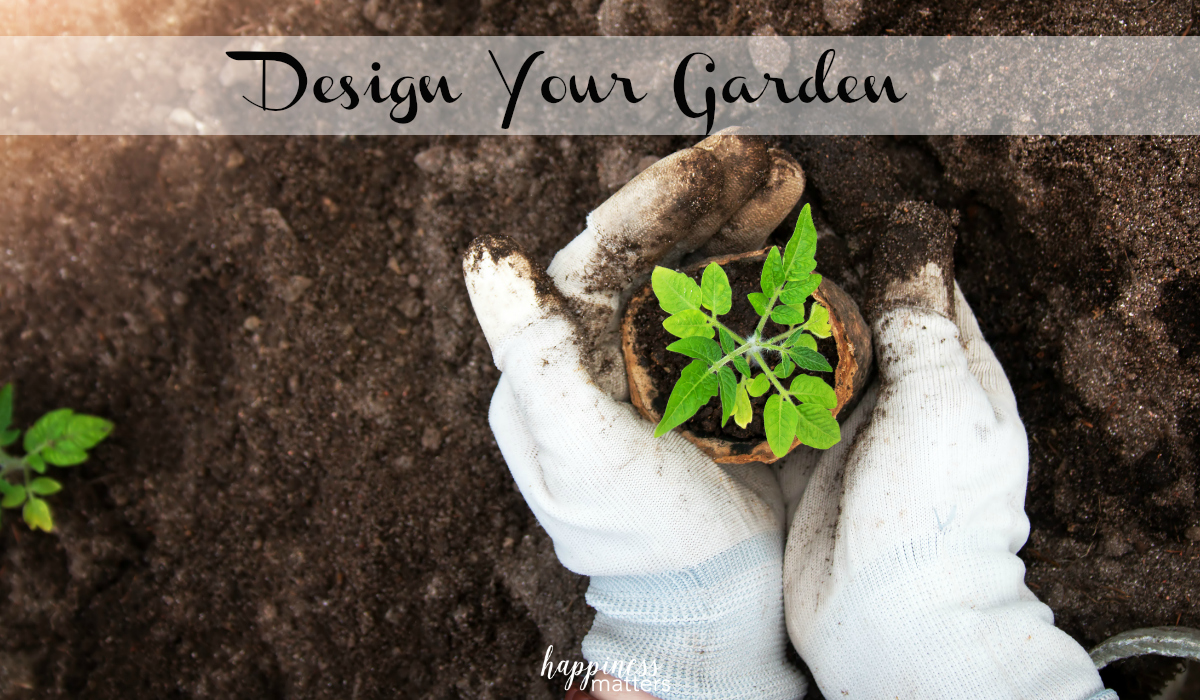 This year, I am planning on raised garden beds and using the square foot gardening method. You can use this method to design your garden, too. It's easy!