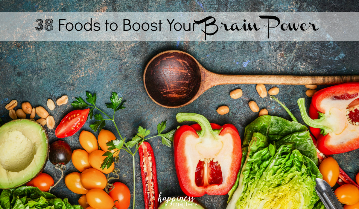Learn more about the 38 Foods to Boost Your Brain Power that are safe and healthy.