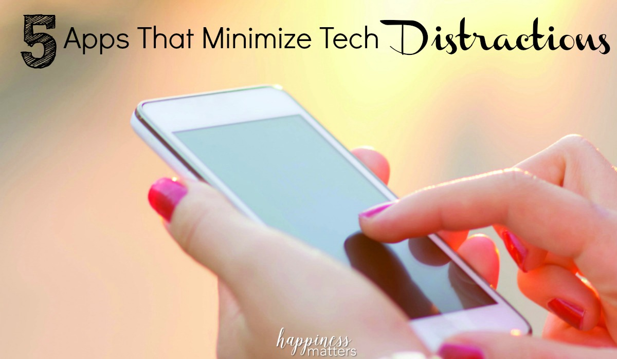 You probably have your phone, watch and other electronics set up to give you notifications daily as well. It's time to minimize tech distractions and create a happier day for yourself!