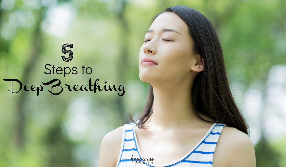 We all find ourselves in stressful situations from time to time. A simple thing that can make a huge impact is deep breathing. Learn 5 easy steps to deep breathing here.