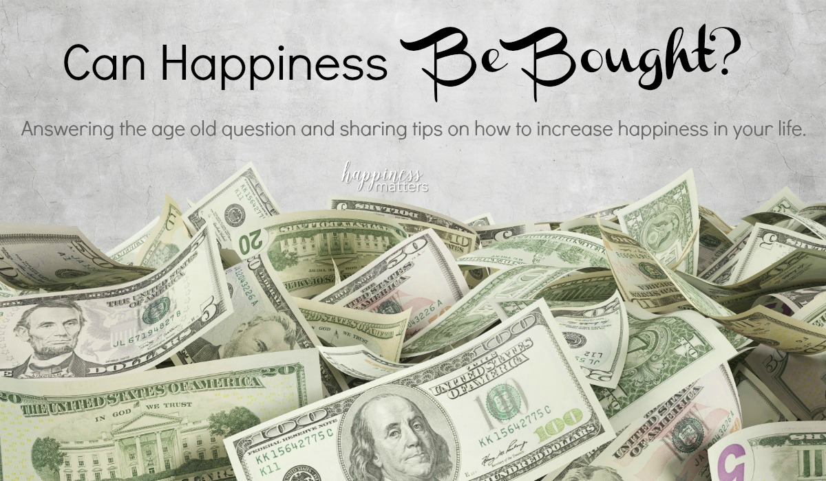 Money brings happiness. Increased income directly correlates to an increase in happiness. But is money alone the cause for your happiness? Can happiness be bought? Take an introspective look at how you can bring more happiness into your life with a couple of fundamental ideas.
