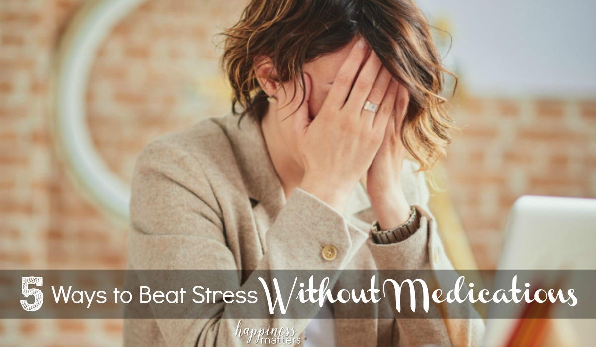 Let's talk about how to beat stress without medications and make you more productive during your day.