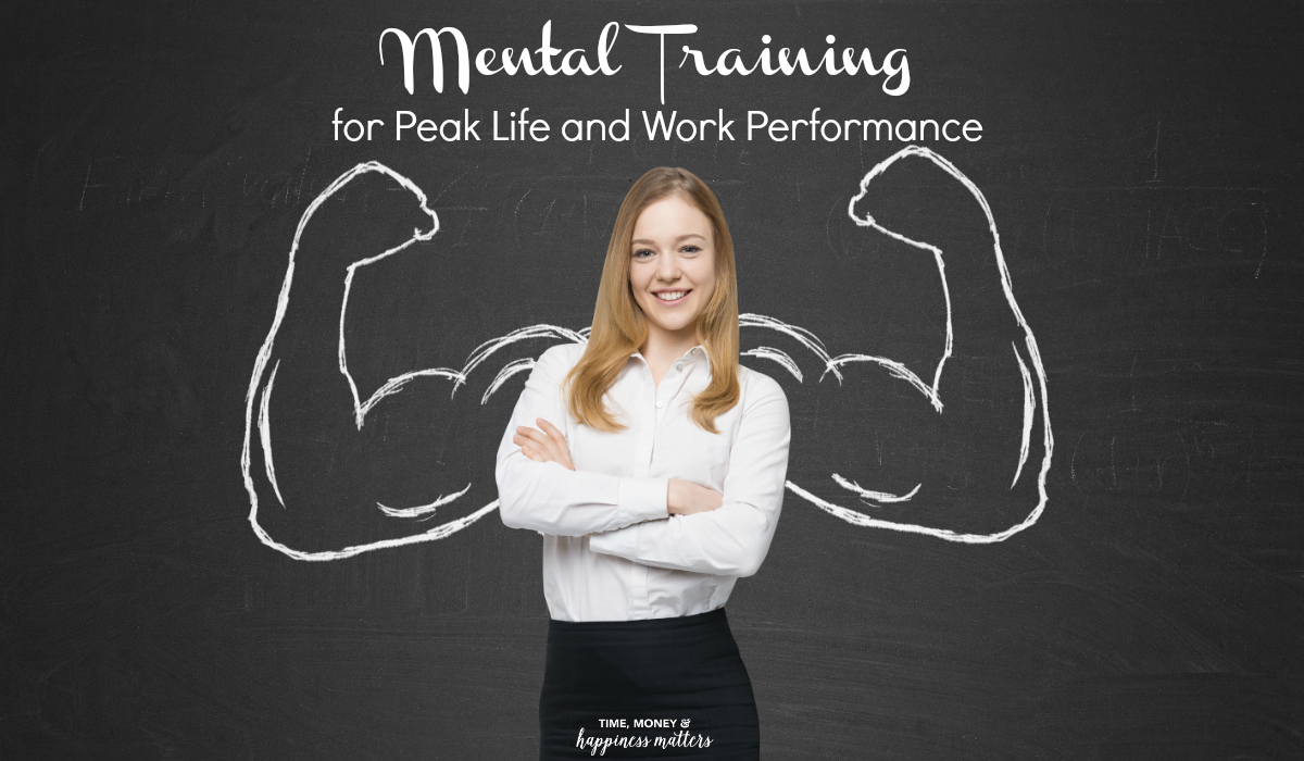 There's a psychology that can help people learn how to focus mentally to gain better performance. This can greatly improve both your personal and work life. When getting what you want out of life is important to you, you can use your mental ability to achieve your goals. Here are some tips on mental training for peak life and work performance!