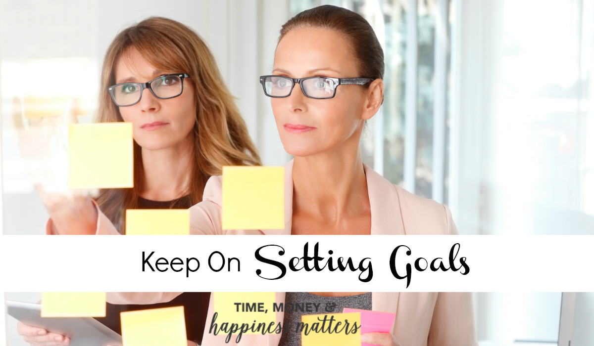 Goal setting is a task to be practiced and refined. There are a lot of way to master your goal setting strategy and I'm excited to share with you more ways to keep on setting goals throughout the length of your career.