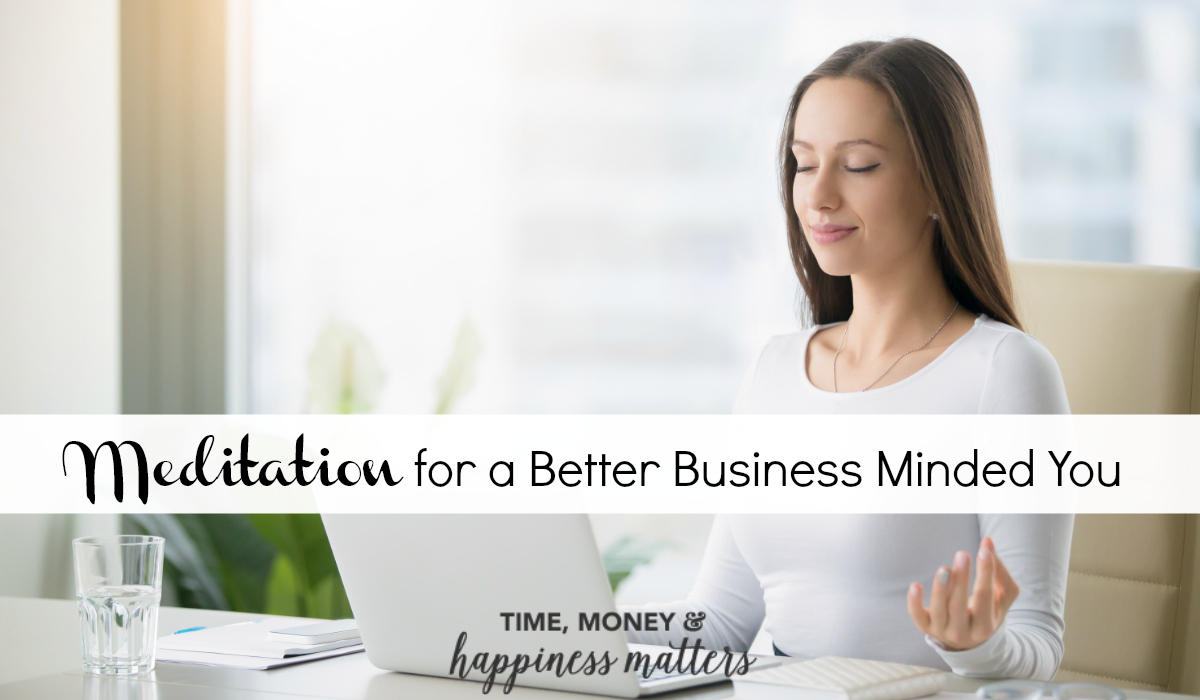 Developing and maintaining a habit of meditation can improve focus and greatly reduce stress. Learn how to use meditation for a better business minded you!