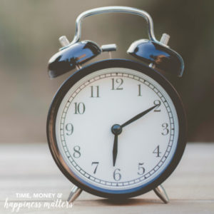 Time is of the Essence {30 Day Self-Improvement Tips}