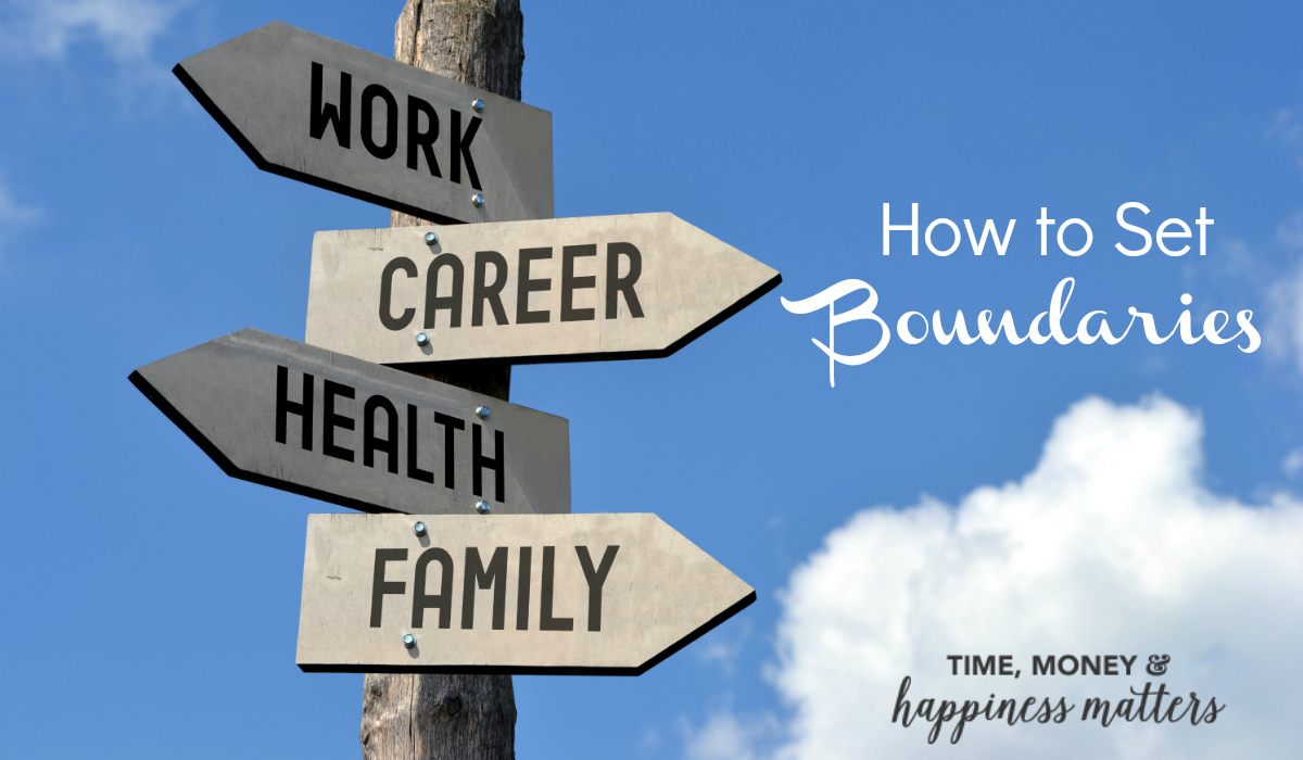 If you're all work and no play, see how to set boundaries between work and home. Creating better balance is the key to a happy life!