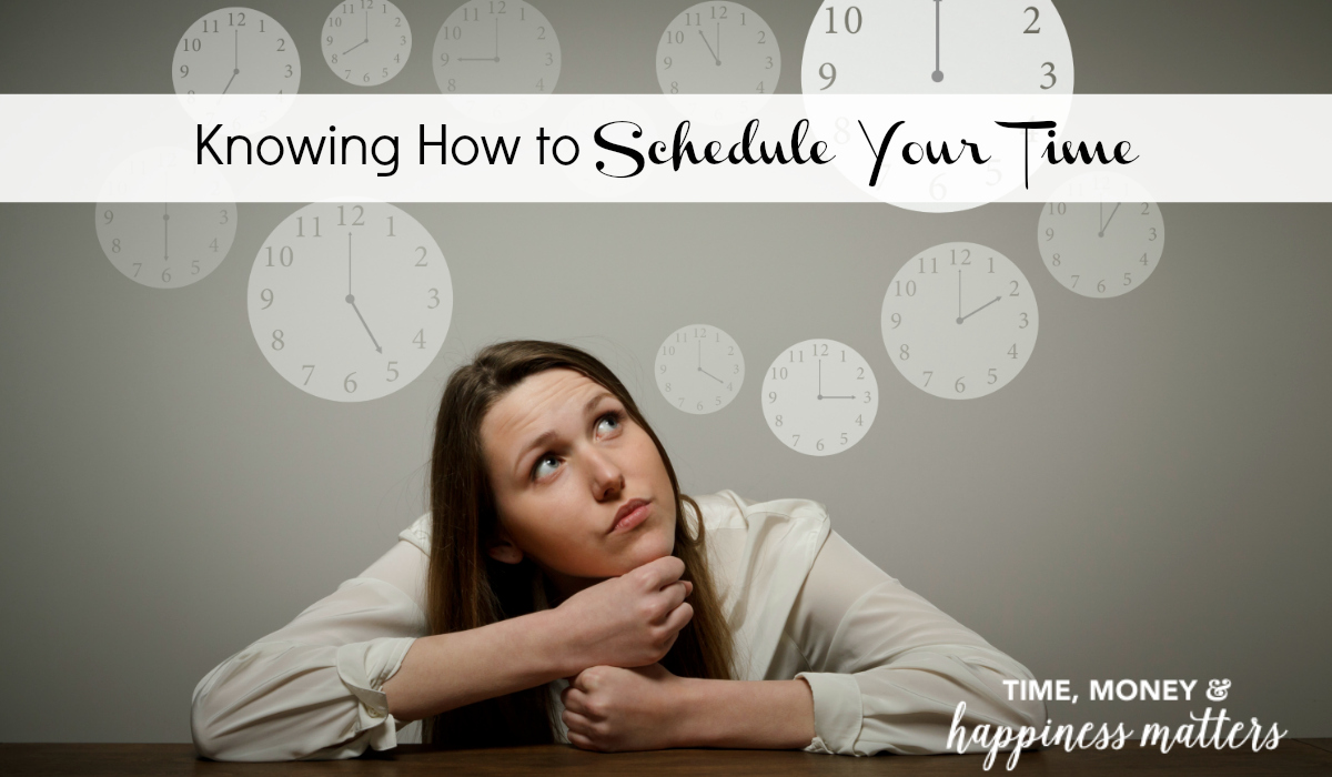 No matter how many time management books you read, one of the most difficult parts is knowing how to make your own schedule. In some workplaces, the time is structured for you. In others, you have more freedom to set your schedule. Either way, you make decisions about how you do what you do and knowing how to schedule your time is essential.