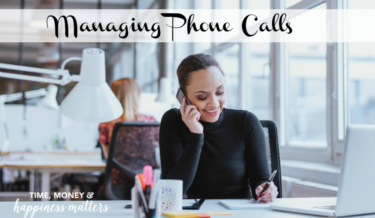 When you are looking for business time management, learn a little bit of how managing phone calls is important to keeping your business running smoothly.