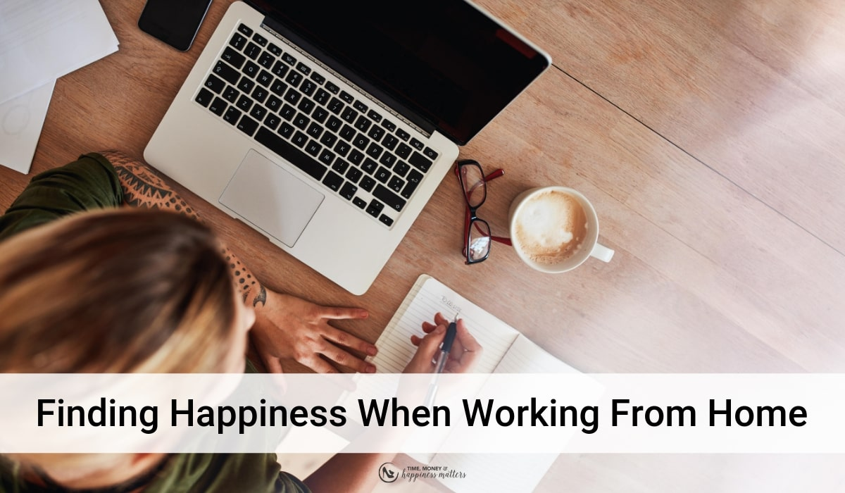 happiness working at home