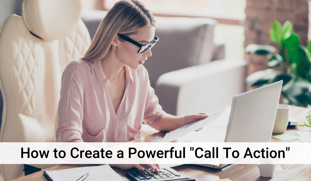 create a powerful call to action