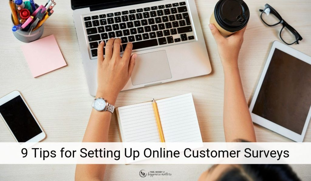 tips to set up an online survey