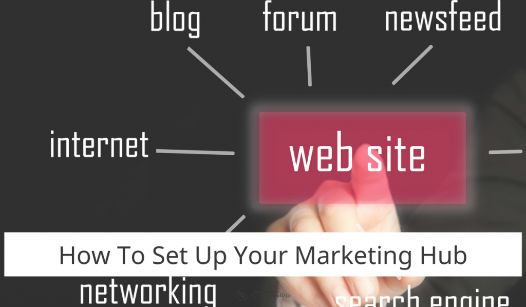 how to set up your marketing hub