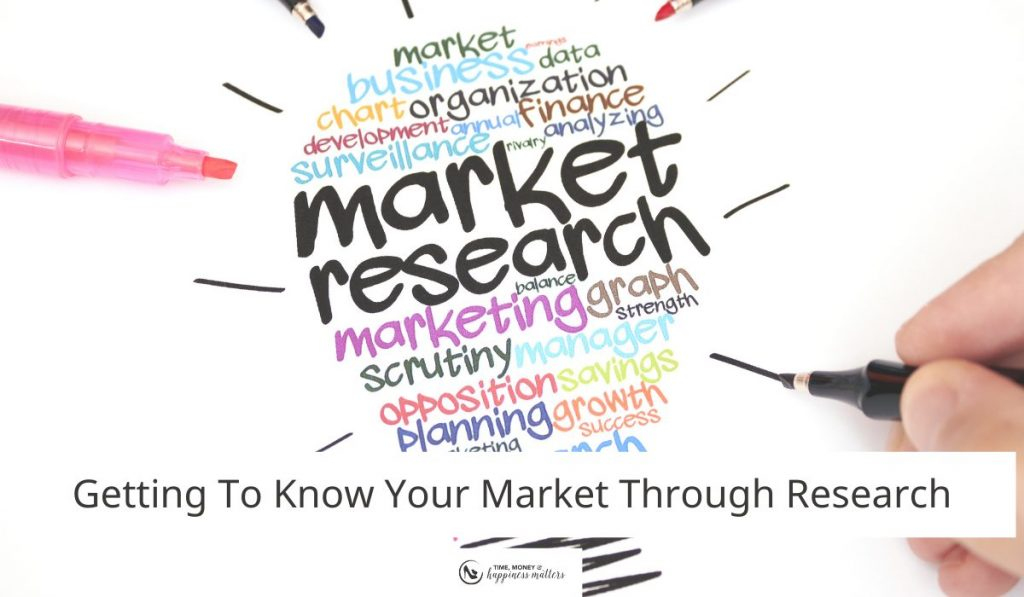 Getting to know your market through research